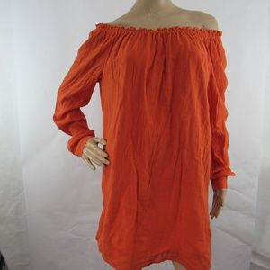 Michael Kors Tunic Top Off The Shoulder